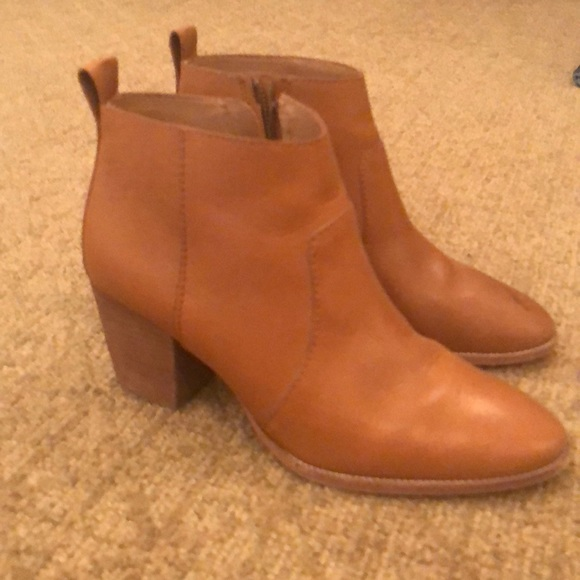 f84dc2f6fcf2c Madewell Shoes - Madewell brown boots